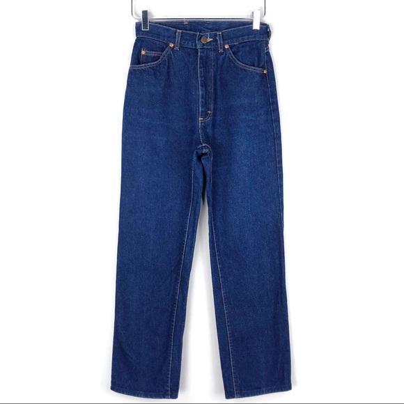 b6aea619 Lee Jeans | Vintage High Rise Mom Dark Wash Size 25 | Poshmark